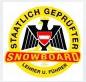Staatlich Geprüfter snowboard lehrer und Führer