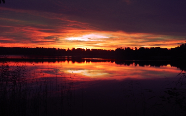 Sunrise in Kimito Finland