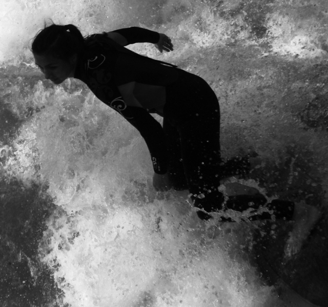 web river surfing